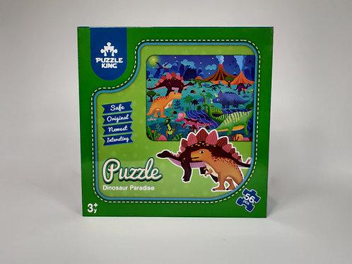 Dinosaur Paradise Puzzle