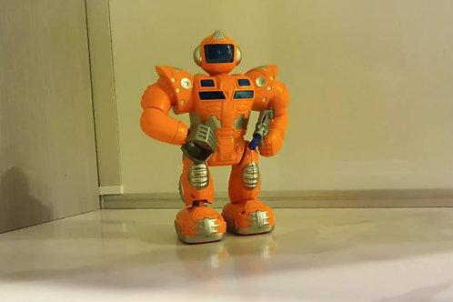 Bright Flashing Robot from Mars!