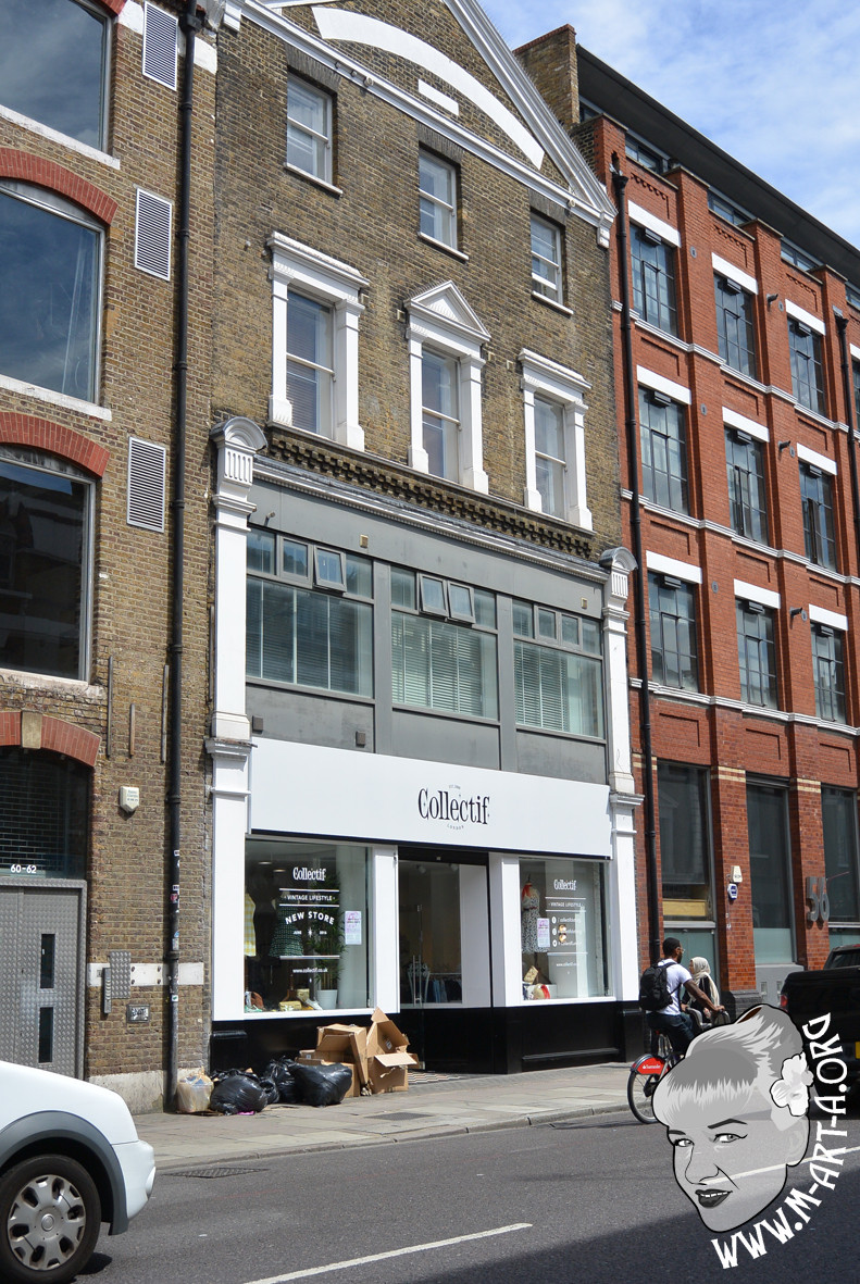 Collectif shop at Commercial Street