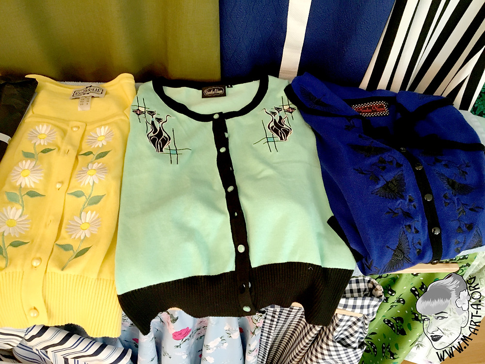 Cardigans from Collectif and Voodoo Vixen