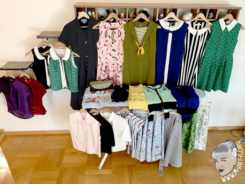 All the pretty clothes!!