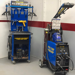 Aluminum Dent Station