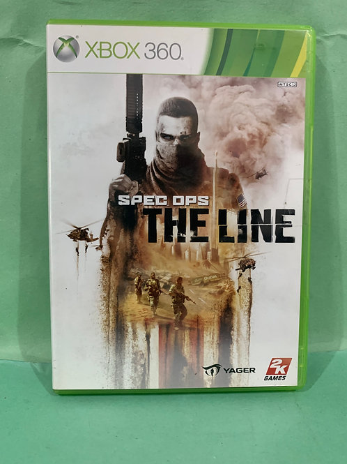 Xbox360 Spec Ops The Line