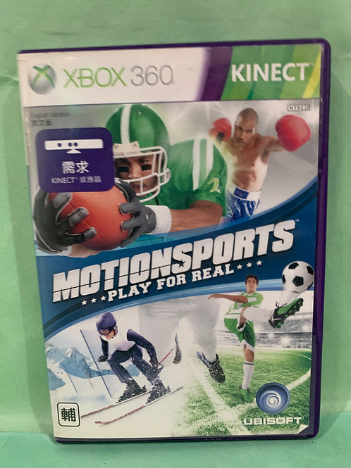 Xbox360 Motion Sports Play for Real