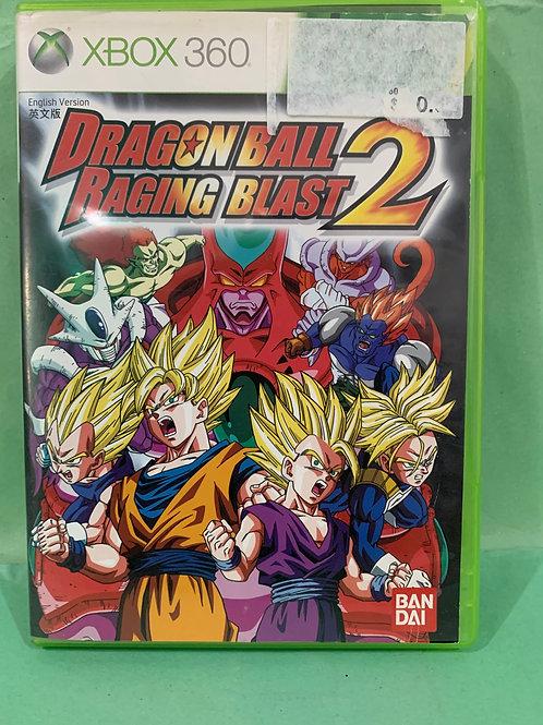 Xbox360 Dragon Ball Raging Blast 2