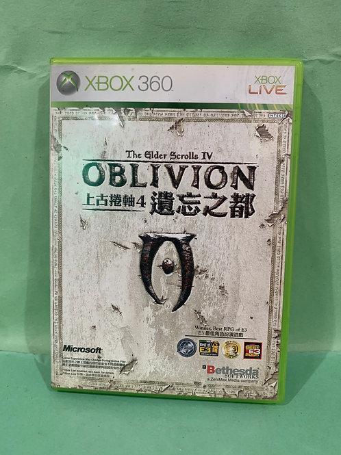 Xbox360 The Elder Scrolls IV OBLIVION