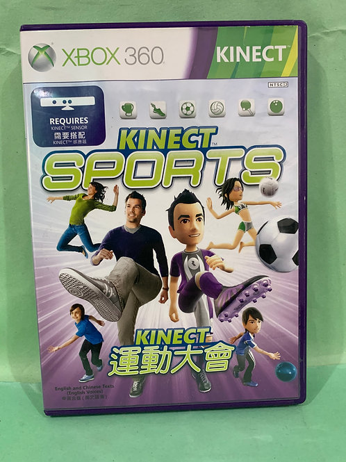 Xbox360 Kinect Sports