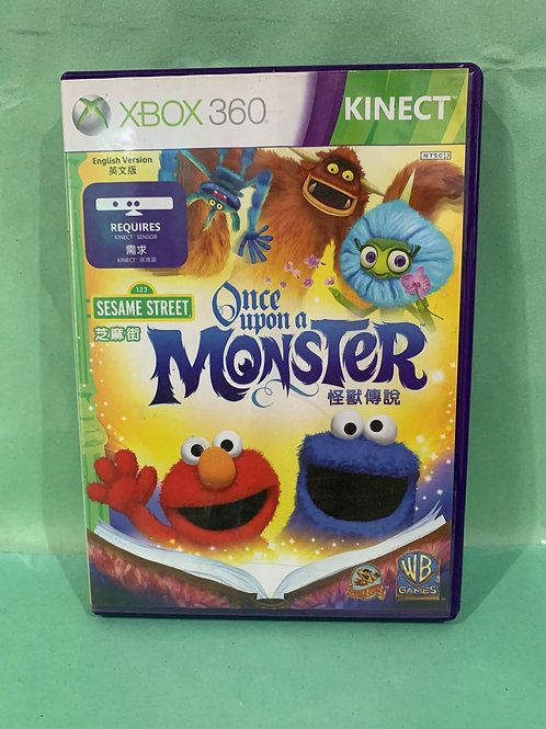 Xbox360 Sesame Street Once Upon A Monster