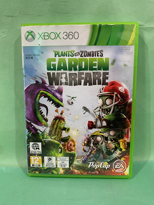 Xbox360 Plants VS Zombies Garden Warfare