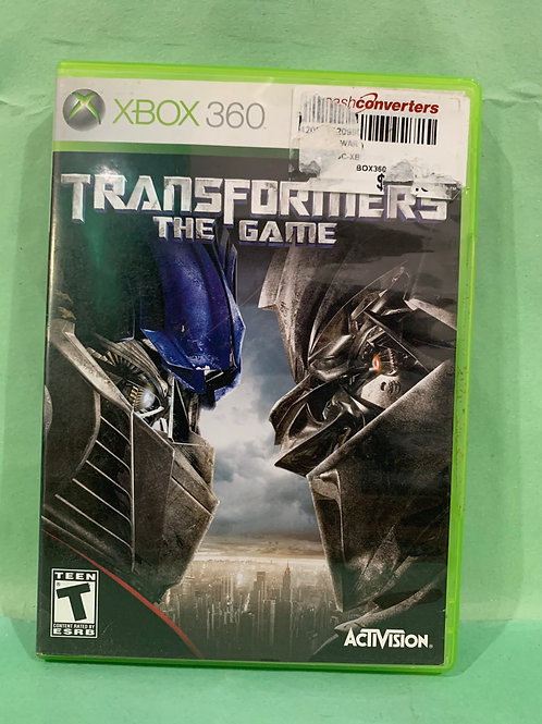 Xbox360 Transformers The Game