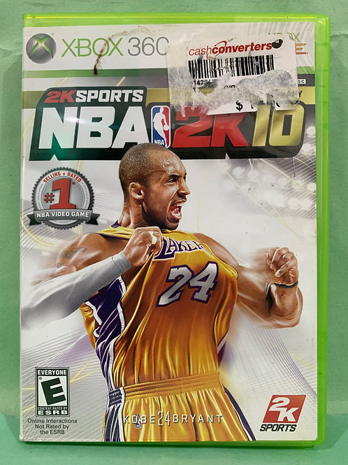 Xbox360 NBA 2K10
