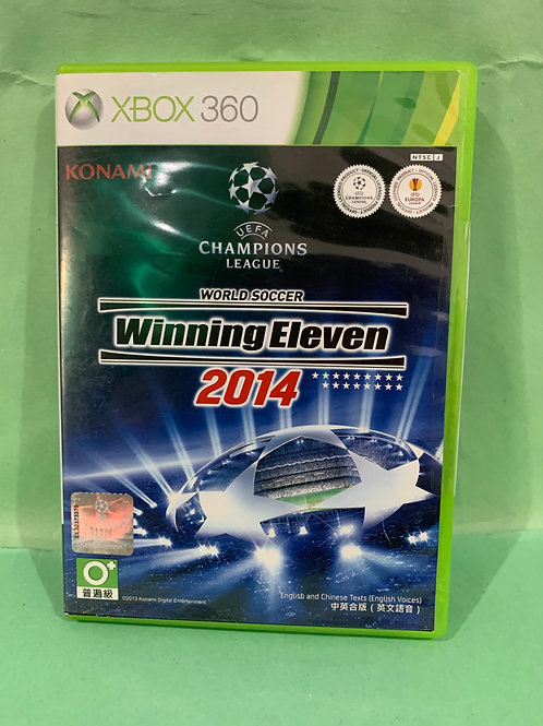 Xbox360 Winning Eleven 2014