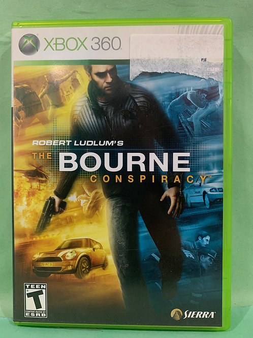 Xbox360 The Bourne Conspiracy