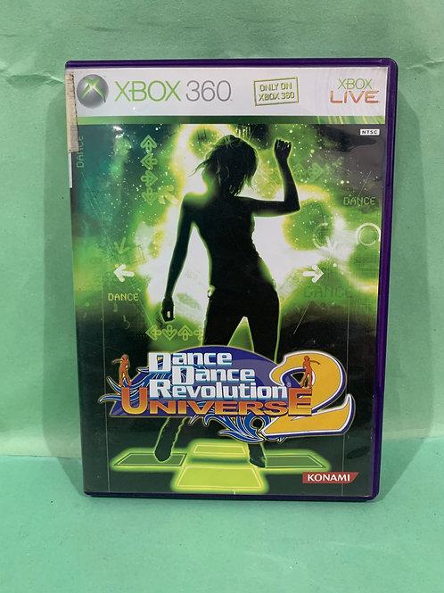 Xbox360 Dance Dance Revolution Universe 2