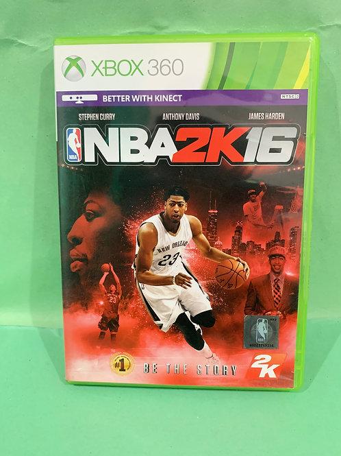 Xbox360 NBA 2K16