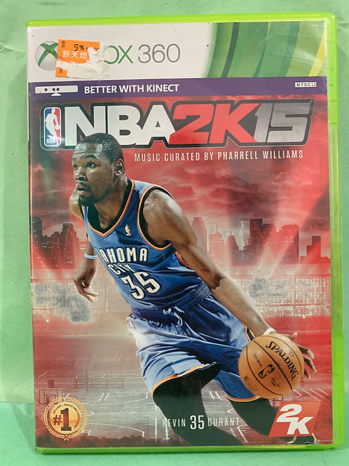 Xbox360 NBA 2K15