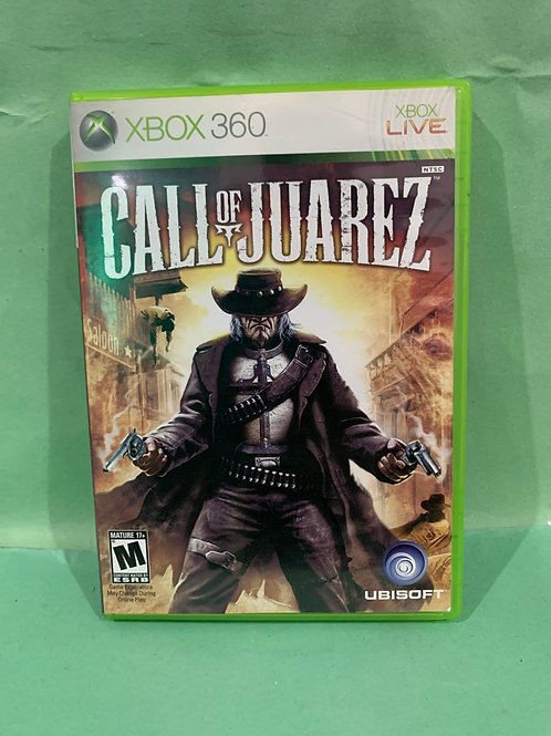 Xbox360 Call of Juarez