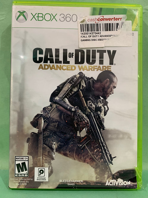 Xbox360 Call of Duty Advanced Warfare