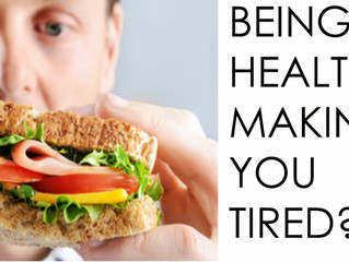 Is your healthy wholesome food making you underperform?