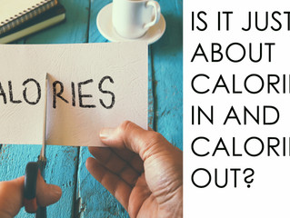 Is it just about calories in and calories out?
