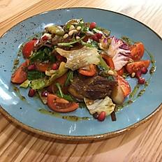 Теплый салат с ростбифом, 250 гр