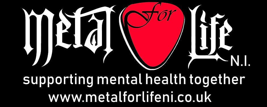Pen logo White Red on black Metal for Li
