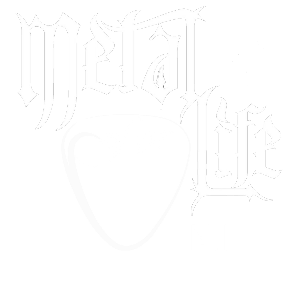 Metal for Life Logo White Transparent Ba