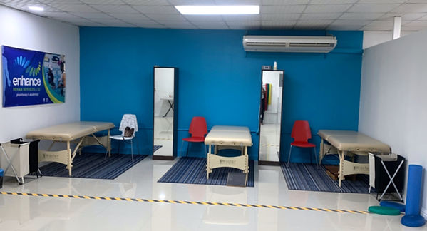 Physiotherapy Beds in a clinic