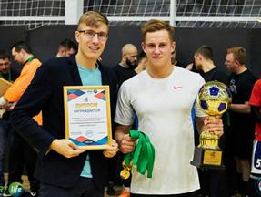 Команда группы ТПК по минифутболу выйграла Большой Кубок НМФЛ-осень 2017 г.Томска !