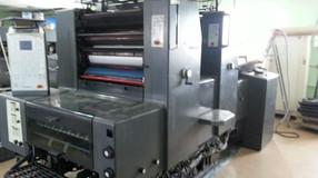 В издательстве рады сообщить об окончании установки второй двухкрасочной листовой офсетной печатной
