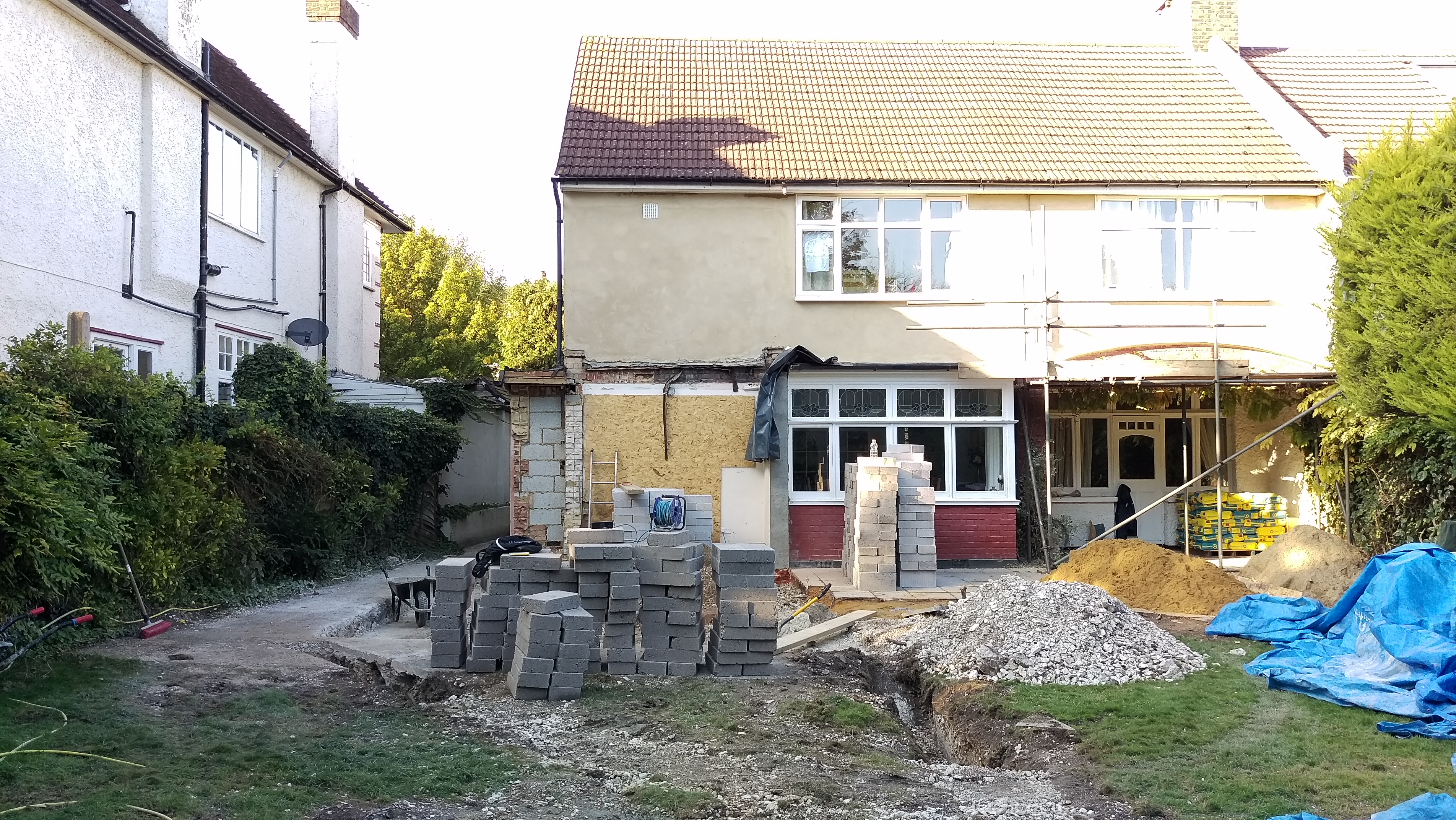 Existing property in Wallington.