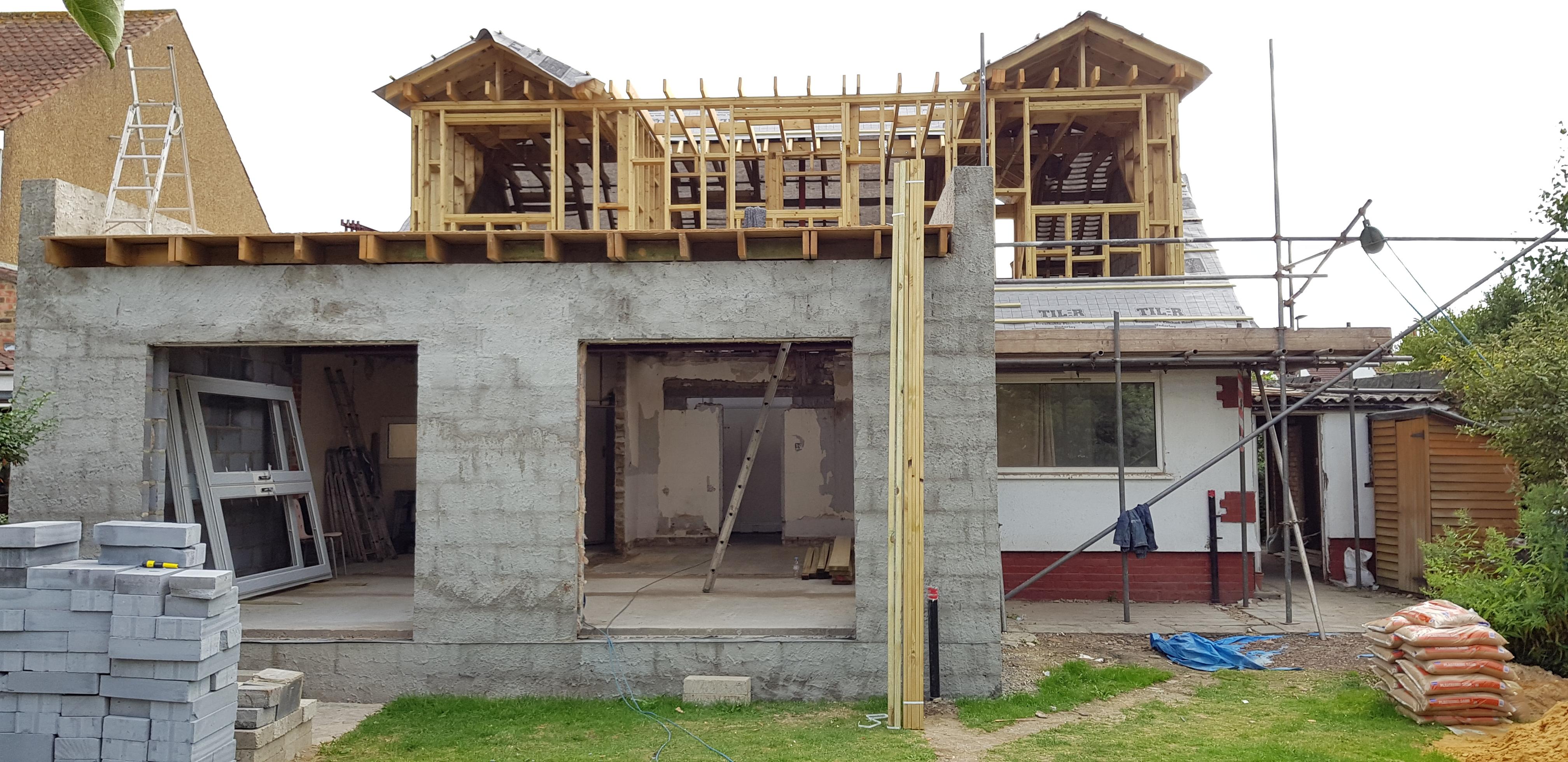 Property under construction.