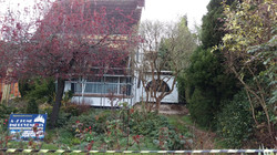 Existing house in Wallington.
