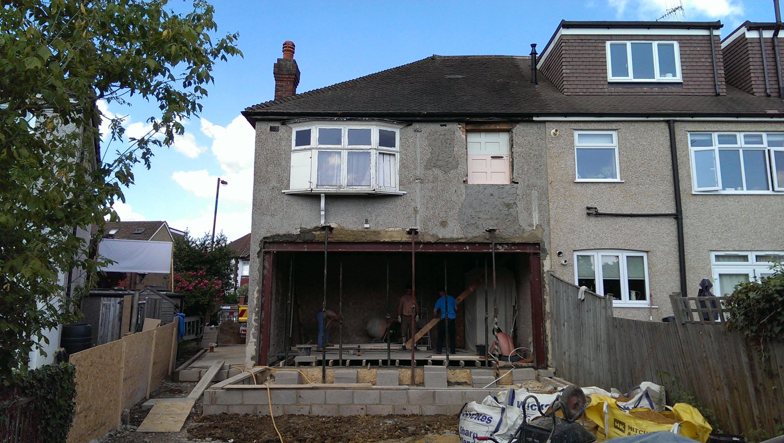 Existing property in Raynes Park.