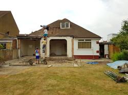 Existing property in Beckenham.