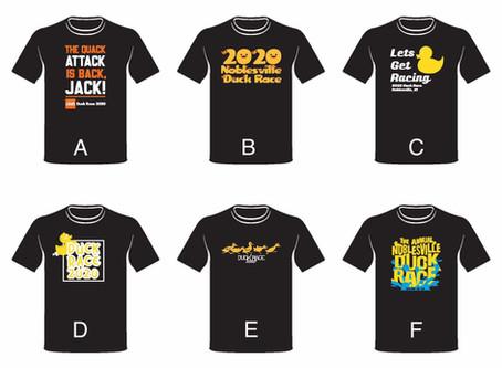 Duck Race T-Shirt Design Contest
