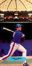 1987 Donruss Pop-Ups #19 Gary Carter