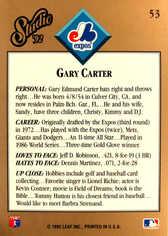 1992 Studio #53 Gary Carter