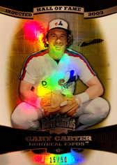 2006 Topps Triple Threads Gold #80 Gary Carter HOF/50