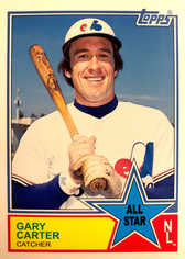 2013 Topps Archives All-Stars #GC Gary Carter