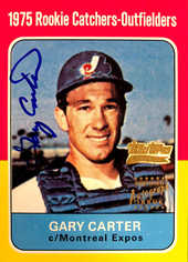 2001 Topps Team Topps Legends Autographs #TTGC Gary Carter 75