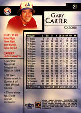 1999 Sports Illustrated Greats of the Game #21 Gary Carter