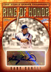 2009 Topps Ring Of Honor Autographs #GC Gary Carter
