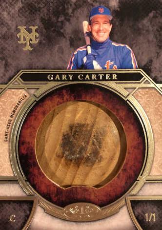 2015 Topps Tier One Bat Knobs #BKGCA Gary Carter 1/1