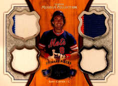 2012 Topps Museum Collection Primary Pieces Legends Quad Relics #GC Gary Carter/25