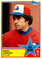 1983 Topps #404 Gary Carter AS