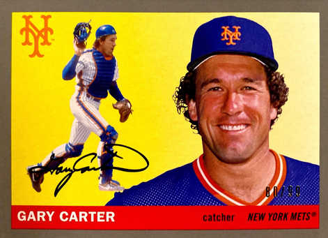 2020 Topps Archives Silver #46 Gary Carter/99