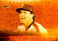 2017 Topps Bunt Perspectives Orange #PGG Gary Carter/50
