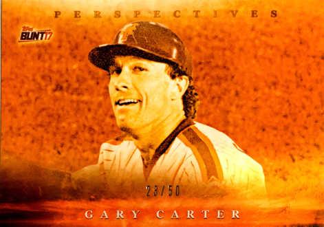 2017 Topps Bunt Perspectives Orange #PGG Gary Carter/50