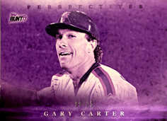 2017 Topps Bunt Perspectives Purple #PGG Gary Carter/25